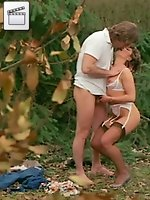 Hot retrostar candie evans get poked hard in a retro orgy